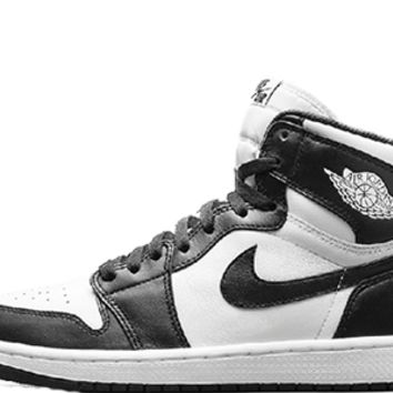 Air Jordan Retro One OG Black and White - (555088-010)