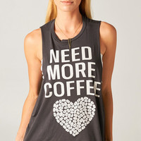 NEED MORE COFFEE TANK