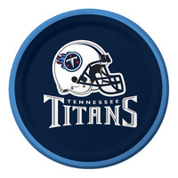 NFL 7 inch Lunch Plates Tennessee Titans/Case of 96