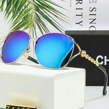 Chanel Women Fashion Trends Polarized Sunglasses F-A-SDYJ #4