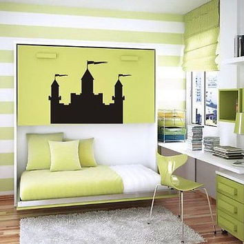 Best castle wall stickers products on wanelo for Castle wall mural sticker