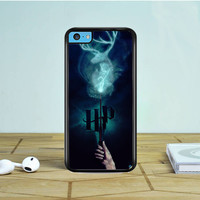 Harry Potter Stag Patronus iPhone 5 5S 5C Case Dewantary