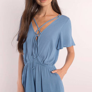 Kimberly Criss Cross Romper