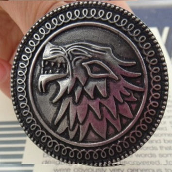Starks of Winterfell Brooch