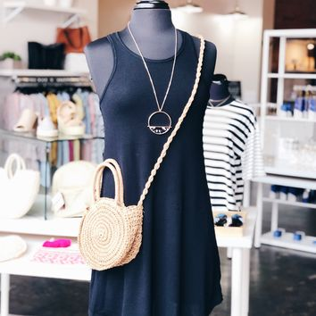 Daisy Straw Bag