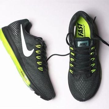 DCCKIG3 nike zoom all out low 3/4 Zoom Air Max Green 878670-300
