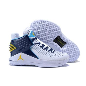 Air Jordan 32 XXXII Navy/White Basketball Shoes US 7--12