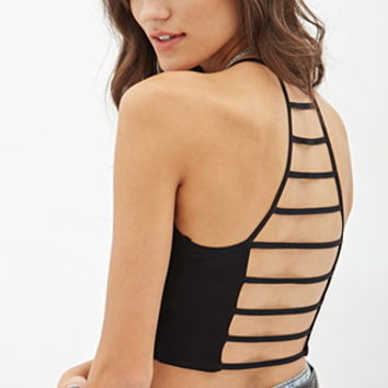 Ladder-Back Crop Top