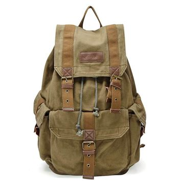 #21101 Vintage Canvas Backpack