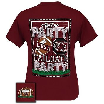 South Carolina Gamecocks Tailgate Party Football T-Shirt