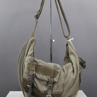 Ash CANVAS SHOULDER BAG