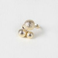Textured Bauble Ring