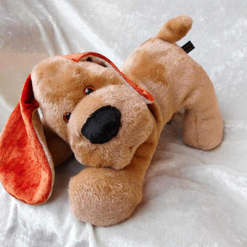 Spaniel Basset Floppy Puppy ultrasoft quality cuddly - handmade OOAK dachshund beagle doxie dog - soft toy stuffed animal Home Decor