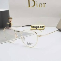 One-nice™ Dior Personality Fashion Popular Sun Shades Eyeglasses Glasses Sunglasses Gold I-A-SDYJ