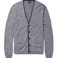 McQ Alexander McQueen Cotton and Wool-Blend Cardigan | MR PORTER