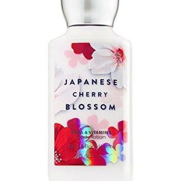 SHIP BY USPS Bath & Body Works Signature Collection Body Lotion, Japanese Cherry Blossom, 8 Ounce