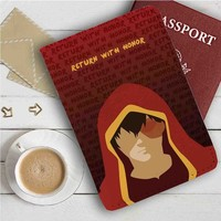 Zuko Return With Honor Leather Passport Wallet Case Cover