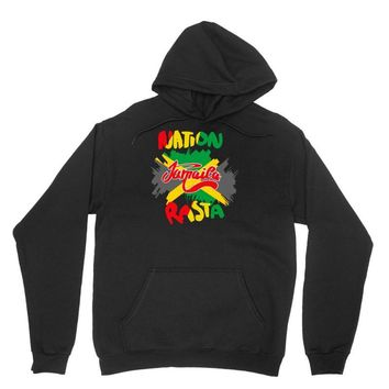 rasta nation, the reggae and dancehall Unisex Hoodie