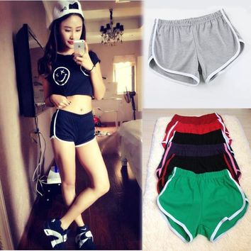 10 color American apparel Sportwear Casual Shorts for Women Mini Shorts femme