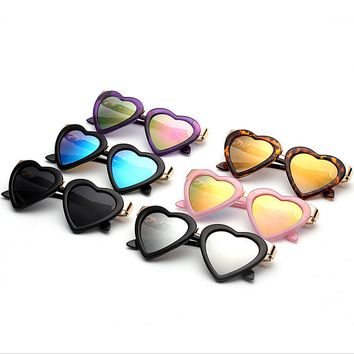 Cute Heart Shape Sunglasses