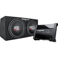 MTX Audio TNP212D2 Terminator Power Pack Subwoofer System - Set of 2