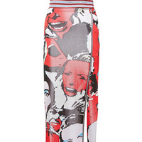 Printed Scream Queen Jacquard Skirt - Marc Jacobs