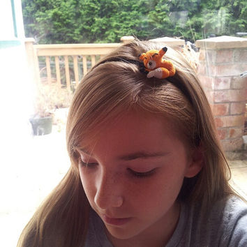 Fox headband - fox hair accessory - Toddler,child adult sizes