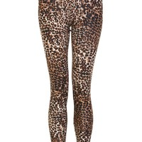 Animal Print Knitted Legging - Womens Clothing Sale, Womens Fashion, Cheap Clothes Online | Miss Rebel
