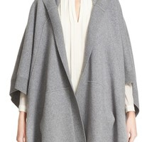 Burberry Carla Hooded Knit Poncho | Nordstrom