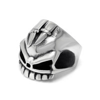 Jewelry New Arrival Shiny Gift Stylish Strong Character Accessory Relief Sculpture Skull Club Men Ring [6526922883]