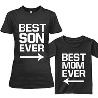 Father's Day family T-Shirt matching outfits Mother's Day short sleeve Mother Son Father T-shirt cotton family matching clothes