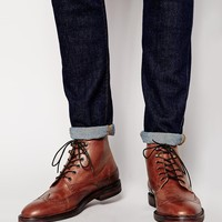 H By Hudson Harland Brogue Boots