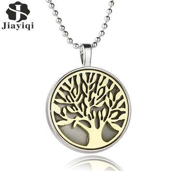Fancy Tree of Life Pendants Glow in the Dark Noctilucent Charm Pendant for Women Necklace Luxury Jewelry Accessory