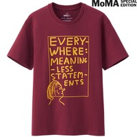 MEN SPRZ NY GRAPHIC T SHIRT (DAVID SHRIGLEY) | UNIQLO