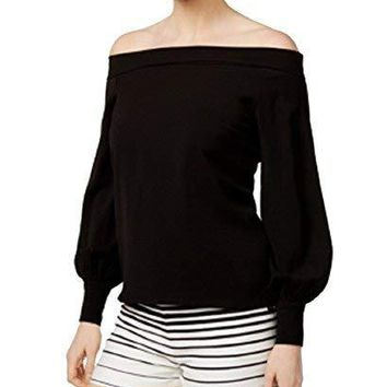 Mare Mare Liana Off-The-Shoulder Balloon-Sleeve Top