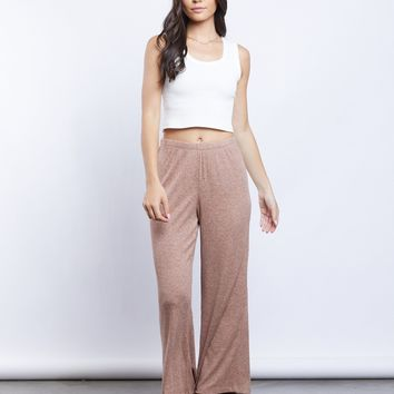 So Comfy Ribbed Gaucho Pants
