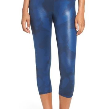 Alo 'Airbrush' High Waist Capris | Nordstrom