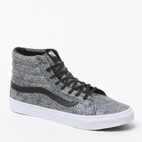 Vans SK8-Hi Slim Zip High-Top Sneakers - Womens Shoes - Black
