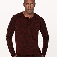 Metal Vent Tech Long Sleeve Henley | Men's Long Sleeve Tops | lululemon athletica