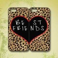 Best Friends, Leopard pattern - iPhone 4 Case, iPhone 5 Case, Samsung Galaxy S4 case, Samsung Galaxy S3 case, Samsung Galaxy note 2 case