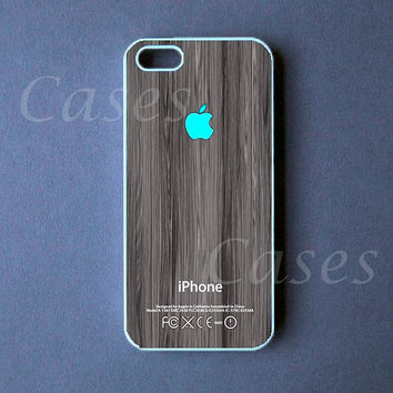 Iphone 5 Case  Turquoise Apple Iphone 5 Cover by DzinerCase