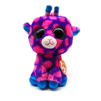 """Pyoopeo TY Beanie Boos 6"""" 15 cm Sika deer Bambi Plush Stuffed Doll Toy Collectible Soft Toys Big Eyes Plush Toys Dolls for Kids"""