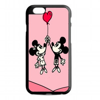 Baloon Love Mickey & Minnie mouse For iPhone 6 case