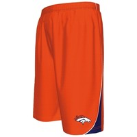 Mens Orange Denver Broncos Classic Synthetic IV Shorts