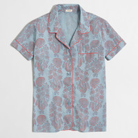 FACTORY PRINTED PAJAMA SHIRT