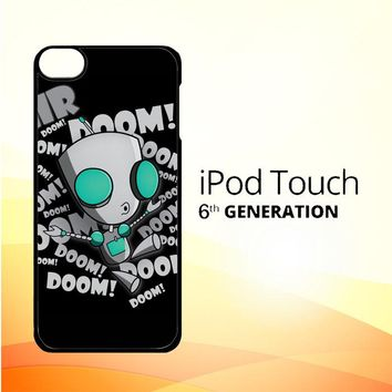 invader zim gir doom song Z0621 iPod Touch 6 Case
