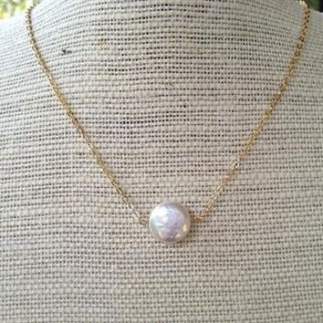 Emma Pearl Drop Simple and Elegant
