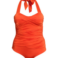 H&M+ Draped Swimsuit - from H&M