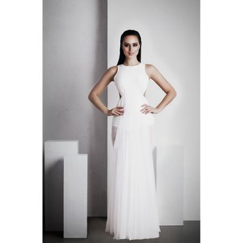 Ophelia Full Length Dress - White