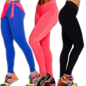 HOT Women Casual Fitness Leggings YOGA Sport High Waist Tights Running Pant S-XL = 1931818180